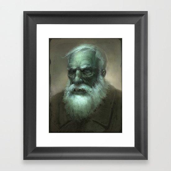 Old Dead Guy Framed Art Print