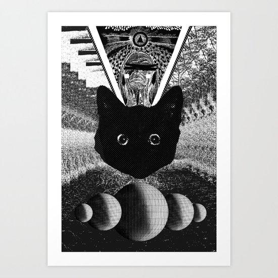 witch 2 Art Print