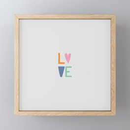 Love Framed Mini Art Print