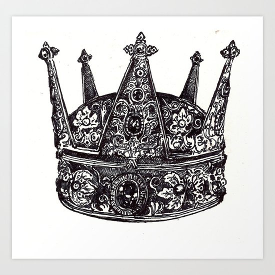 Crown #2 Art Print
