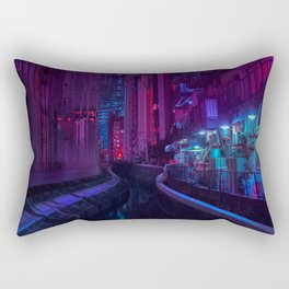 Tokyo Nights / Glitch City / Liam Wong Rectangular Pillow