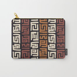 African Kuba Cloth Carry-All Pouch