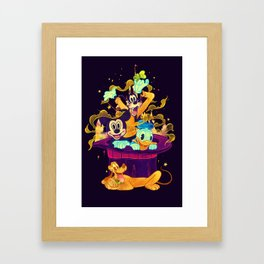 Trouble Makers Framed Art Print