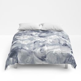 Marble Mist Cool Grey Comforters