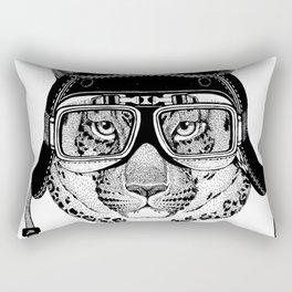 Leopard Speed Rebel Rectangular Pillow