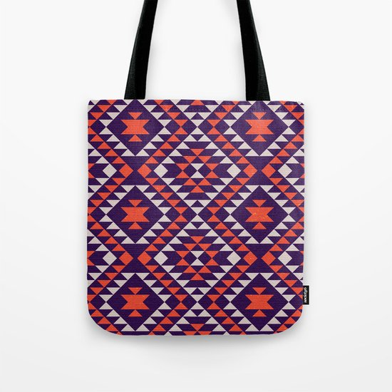 Geometric tribal pattern Tote Bag