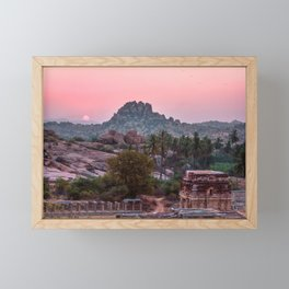 Jungle book: sunrise Framed Mini Art Print