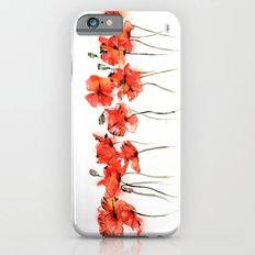 Remember me _ Poppies iPhone 6s Slim Case