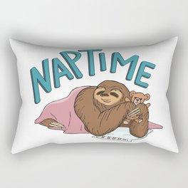 Nap Time Sloth Rectangular Pillow