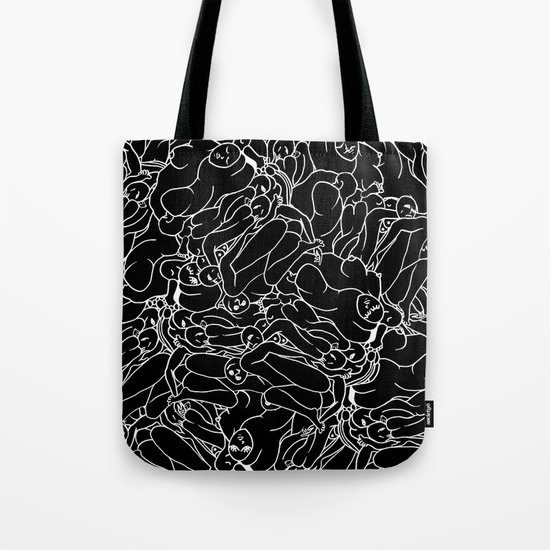 Fifty shades of Love (Dark) Tote Bag
