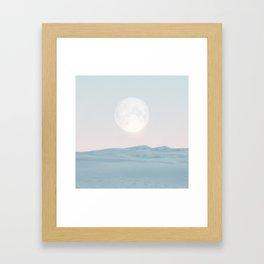 Pastel desert II Framed Art Print