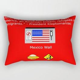 The Plutocracy in America Rectangular Pillow