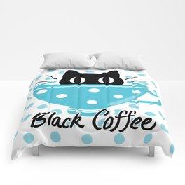 Black Coffee Comforters