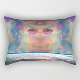 The Awakening of Gaea Rectangular Pillow