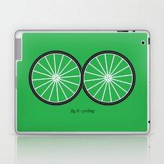 Fig.8: cycling Laptop & iPad Skin