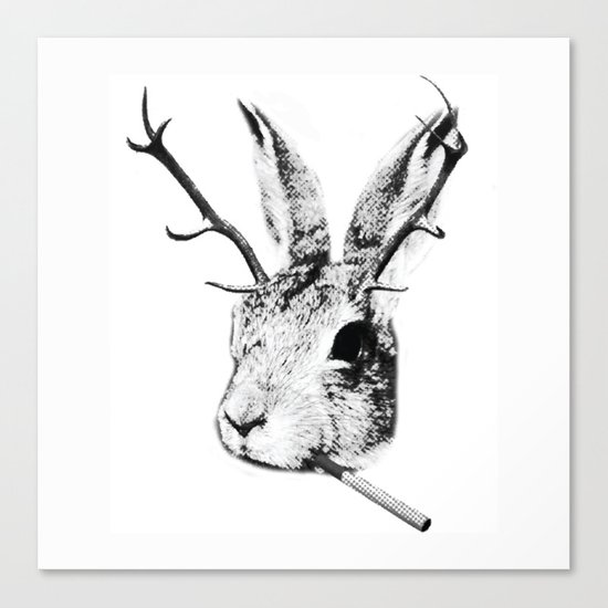 Sargeant Slaughtered Canvas Print