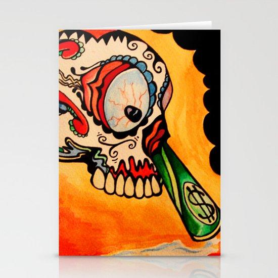 los muertos  Stationery Cards