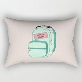 Backpack Rectangular Pillow