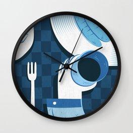 lunch Wall Clock