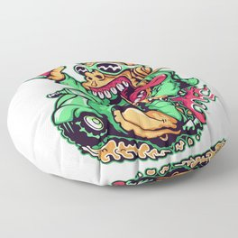 GREEN - Scooter Floor Pillow