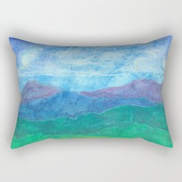 Blue Ridge Twilight Rectangular Pillow