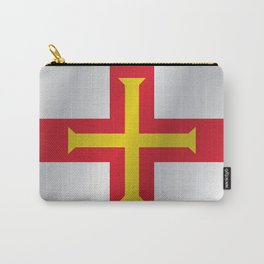 Flag of Guernsey Carry-All Pouch