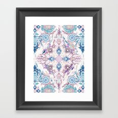 Wonderland in Winter Framed Art Print
