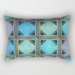 Geometric Christmas Pattern Rectangular Pillow