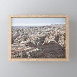 Fantastic Badlands Framed Mini Art Print