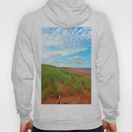 Red Dunes and Beach Grass Hoody