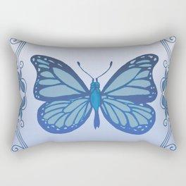 Butterfly Nucleus Rectangular Pillow