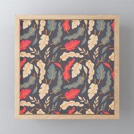 Vintage Floral Pattern 009 Framed Mini Art Print