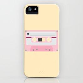 #52 Cassette Tape iPhone Case