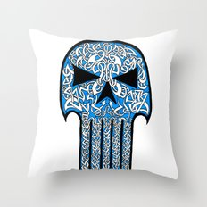 Celtic Punisher Throw Pillow