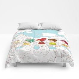 Chu Chu Angel : Keep Walking Comforters