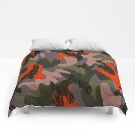Camouflage 3 Comforters