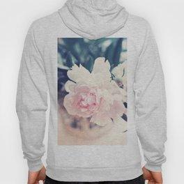 Beautiful Peony Flower Art Hoody