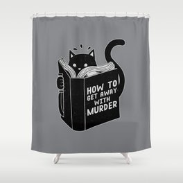 How to get away with murder Shower Curtain