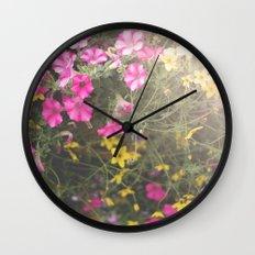 Summer Bliss Wall Clock