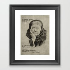 Blavatsky Framed Art Print