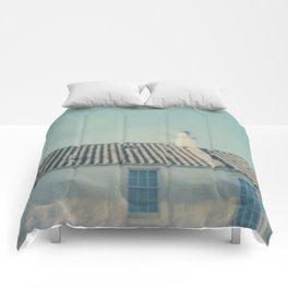 polaroid lovers ~ Scottish houses Comforters