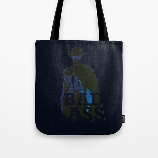 """""""The Man With No Name"""" is a Badass Tote Bag"""