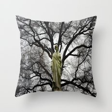 Breath In Throw Pillow