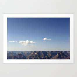 CANYONS AND SKIES Art Print