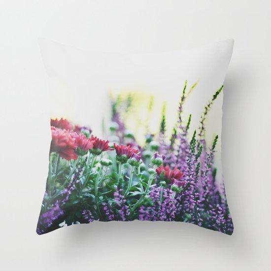 FANTASY COLORS Throw Pillow