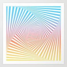 Bakana Summer Twista Art Print