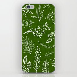 Emerald Forest iPhone Skin