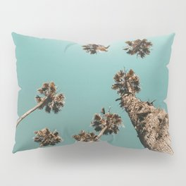{1 of 2} Palm Trees = Happy // Teal Summer Sky Pillow Sham