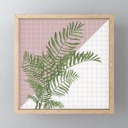 BOTANICAL - ARECA PALM Framed Mini Art Print