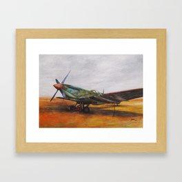 Vintage Plane II Framed Art Print